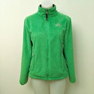 THE NORTH FACE Women's Bright Green Fleece, Small